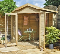 Blockley corner summerhouse