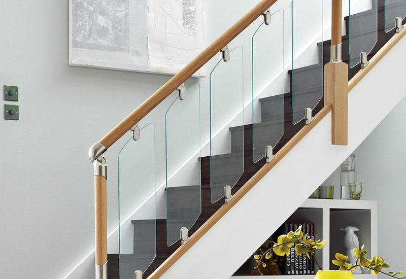 Glass Stair Panels Clearly On Trend