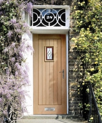 Chancery oak external door