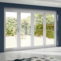 La Porte Vista bi-folding doors